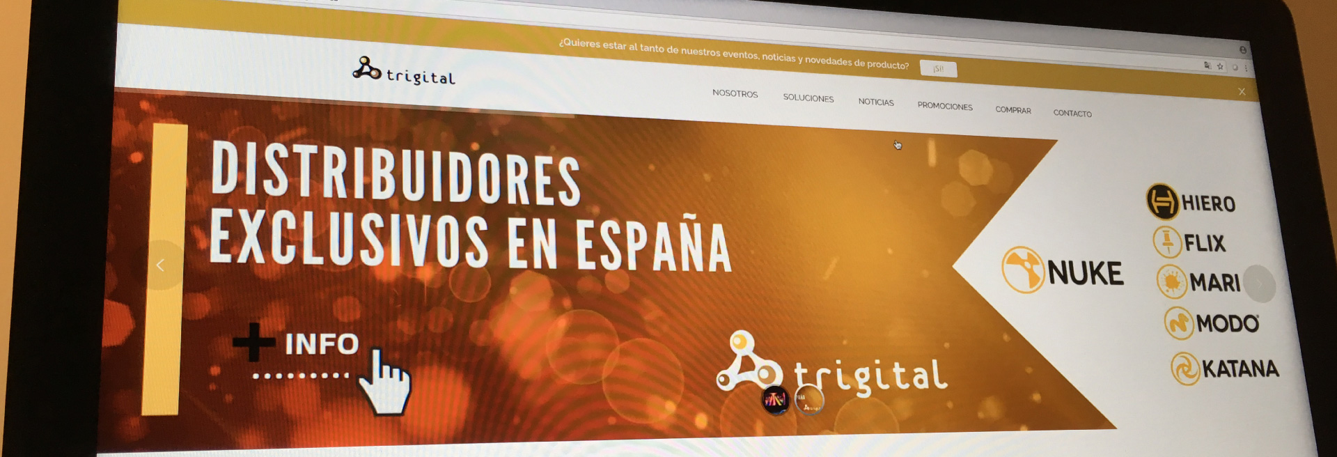 We Welcome Our Dealer In Spain: Trigital