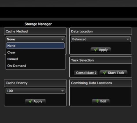 AVFS storage manager balanced - part